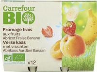Fromage frais aux fruits - Producto