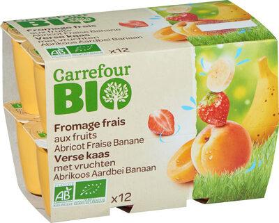 Fromage frais aux fruits - Product - fr