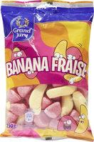 Banana fraise - Product - fr