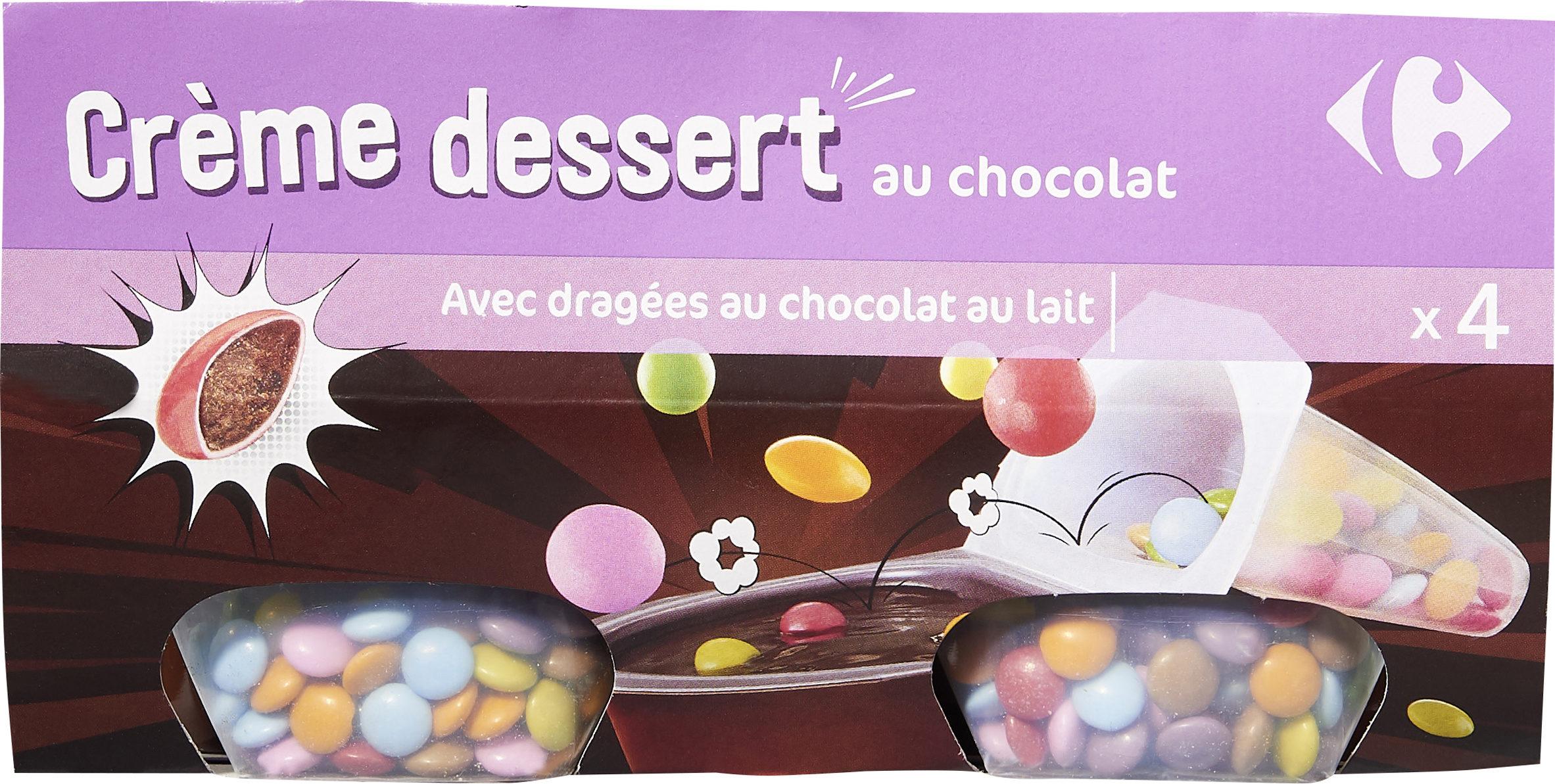 Crème dessert au Chocolat - Produit