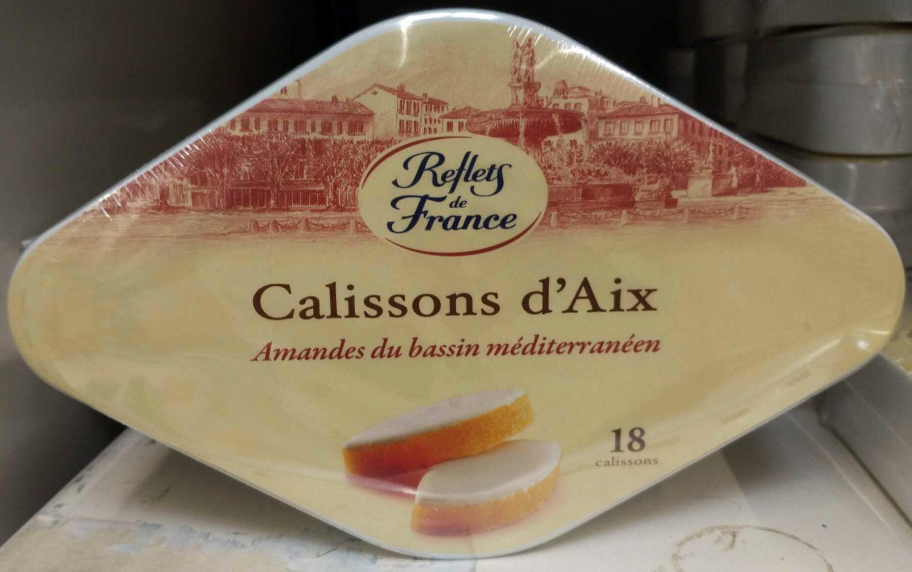 Calissons d'Aix Amandes du bassin méditerranéen - Produit