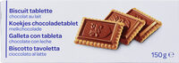 Biscuit tablette - Product - fr