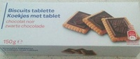 Biscuit tablette - Producto