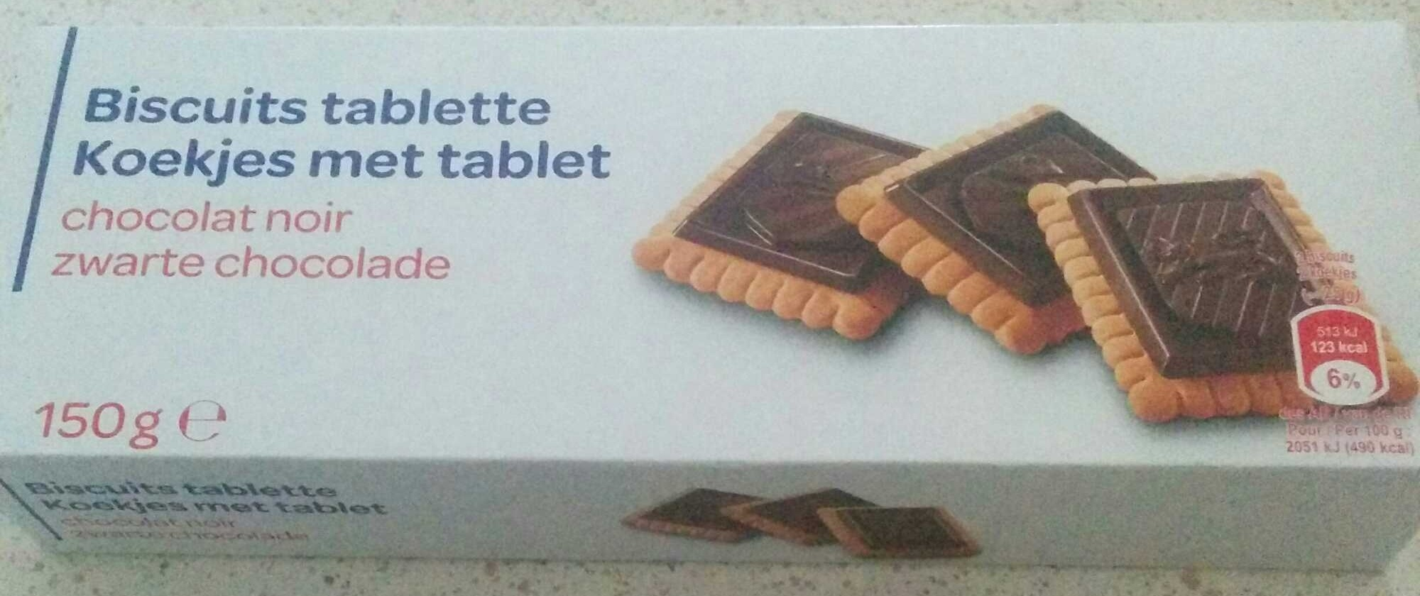 Biscuit tablette - Producto - fr
