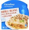 Merlu Blanc Sauce Citron et Boulgour aux Légumes - Produit