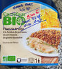 Filet de truite à la fondue de poireaux et son mescia de grand épautre - Product