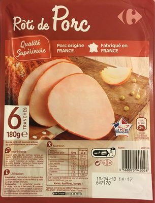Rôti de porc - Produit