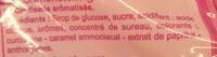 Assortiment de sucettes goûs fruits & cola - Ingrédients - fr