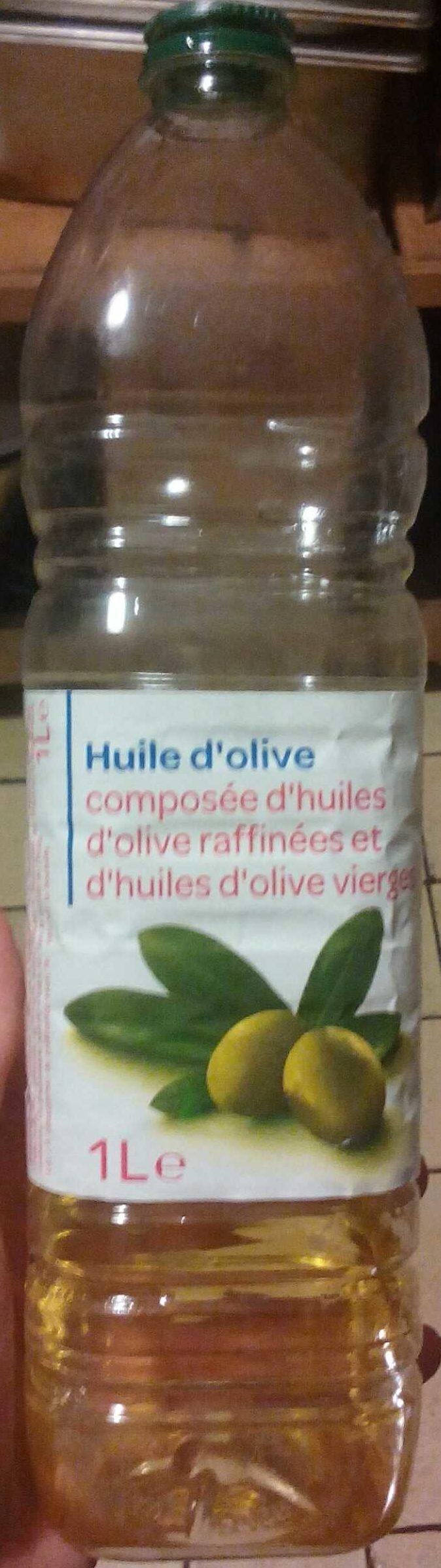 Huile d'olive - Composée d'huiles d'olive raffinées et d'huiles d'olive vierges - Produit - fr
