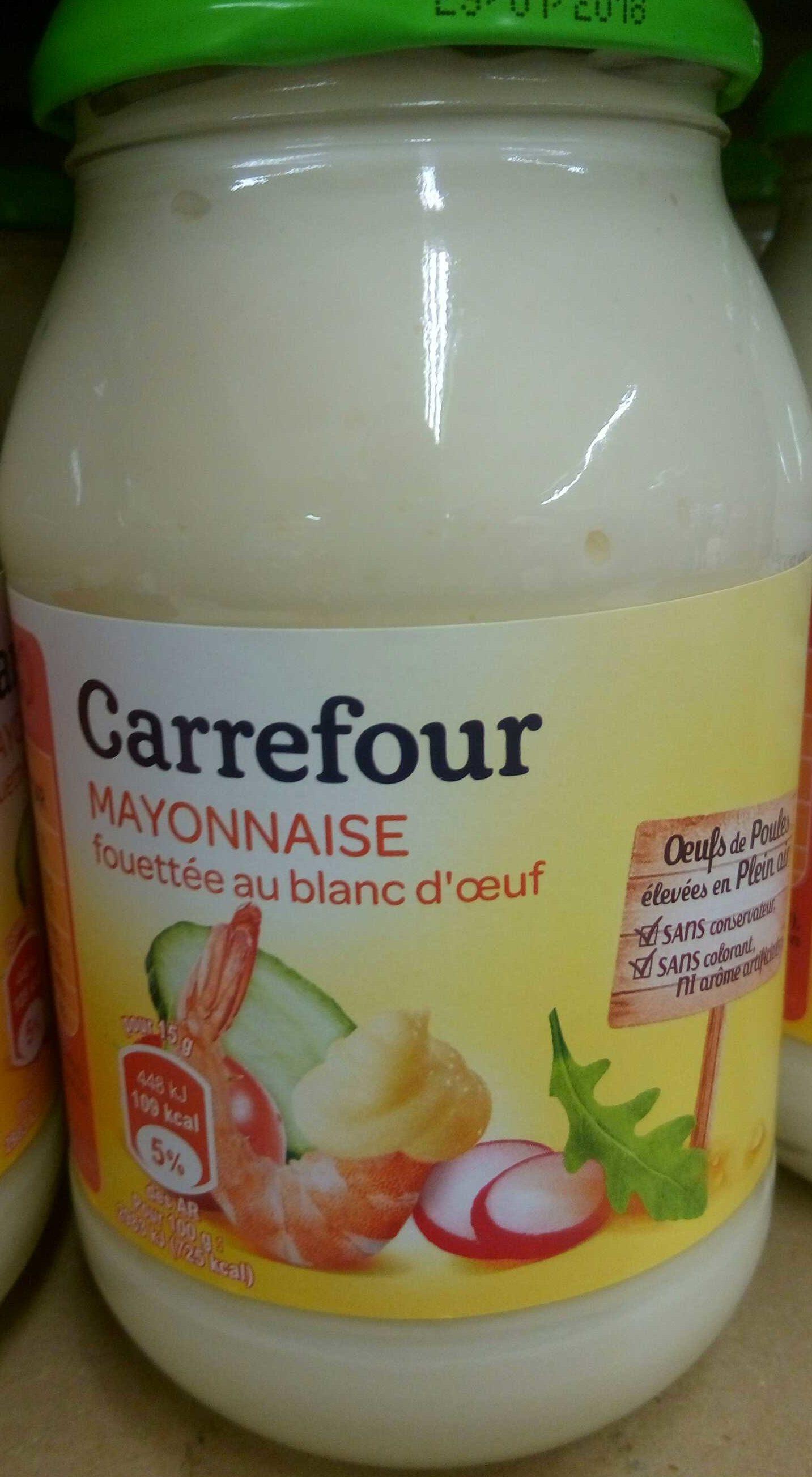 Mayonnaise fouettée au blanc d'œuf - Produkt - fr