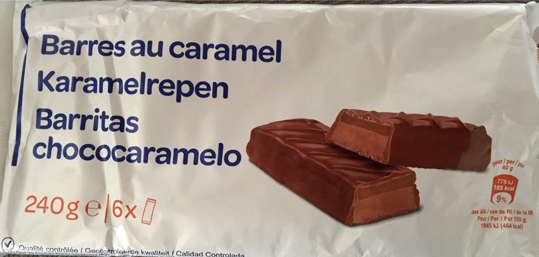 Barres au caramel - Produit - fr