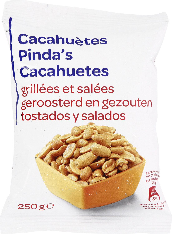 Cacahuètes grillés et salées - Produit - fr