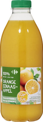 100% Pur jus orange Avec pulpe - Product - fr