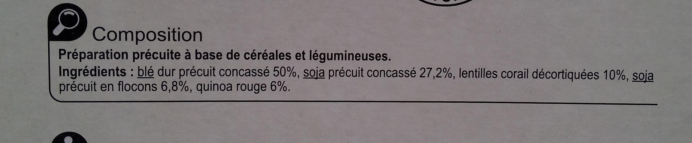 Mélange céréales - Ingrediënten - fr