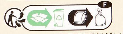 Mélange Gourmand - Instruction de recyclage et/ou informations d'emballage - fr