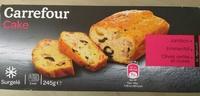 Cake Jambon, Emmental, Olives vertes et noires - Produit