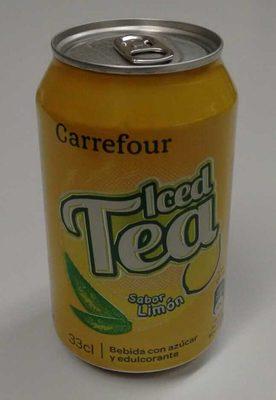 Iced Tea sabor Limón - Producto