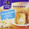 Secret glacé, saveur vanille - Product
