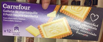 GALLETAS DE MANTEQUILLA TABLETA Chocolate blanco - Product - es