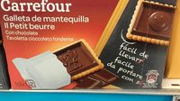 Para llevar galletas de mantequilla  tableta chocolate - Informations nutritionnelles - fr