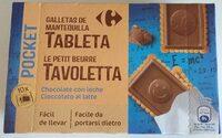 PARA LLEVAR GALLETAS DE MANTEQUILLA TABLETA Chocolate con leche - Product - es