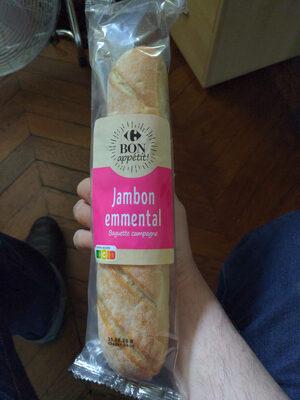 Sandwich Classique Jambon Emmental - Produit - fr