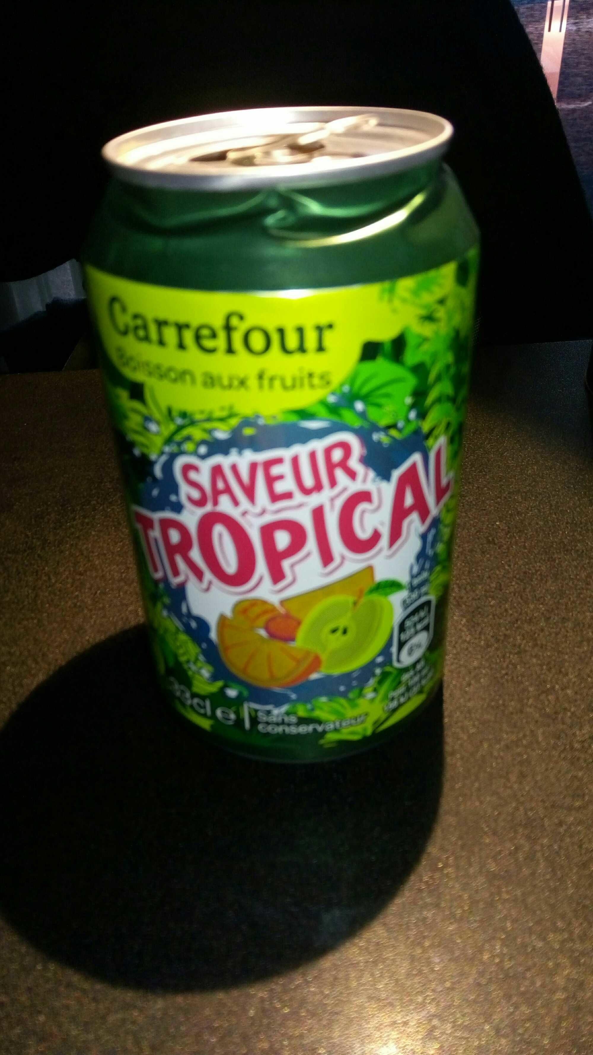 Boisson aux Fruits saveur Tropical - Product - fr