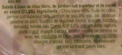 Salade trio - Ingrédients - fr