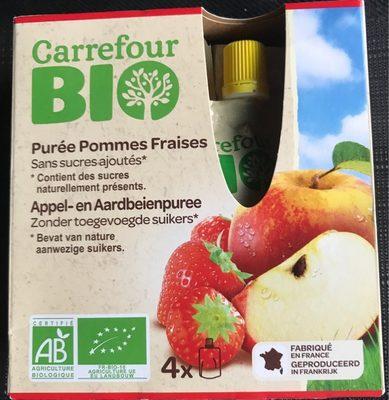 Puree pommes fraises - Product