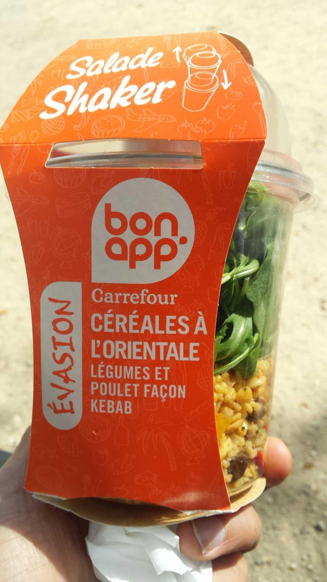 Salade shaker - Produit - fr
