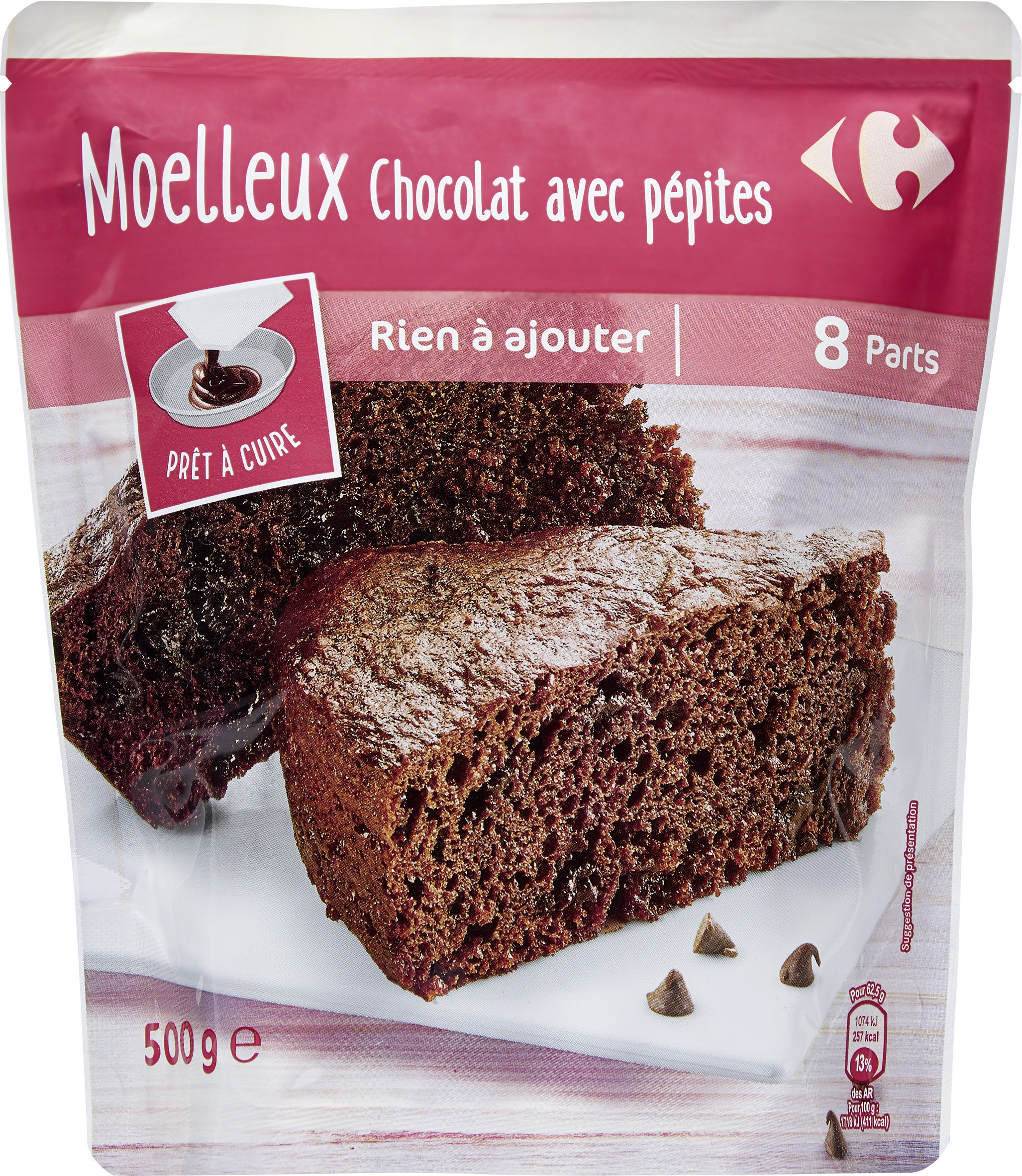Moelleux chocolat - Product