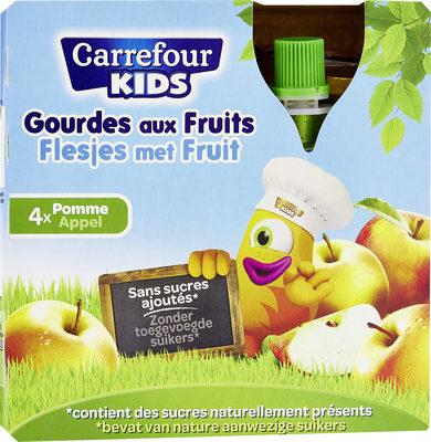 Sans sucres ajoutés* *Contient des sucres naturellement présents - Producte - fr