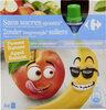 Sans sucres ajoutés* *Contient des sucres naturellement présents - Product