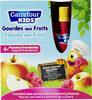 Pomme framboise compotes allégées en sucres * * 30% de sucres en moins par rapport à une compote classique. - Product