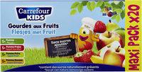 Sans sucres ajoutés**Contient des sucres naturellement présents - Product - fr