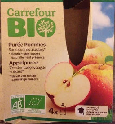 Purée Pommes - Produit - fr
