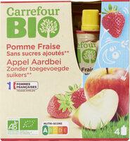 Purée pommes fraises - Prodotto - fr