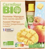 Purée Pommes Mangues Sans sucres ajoutés* *Contient des sucres naturellement présents. - Product - fr