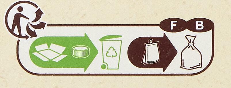 Purée Pommes Poires - Recyclinginstructies en / of verpakkingsinformatie - fr
