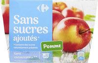 Purée de pommes sans sucres ajoutés**Contient des sucres naturellement présents - Product - fr