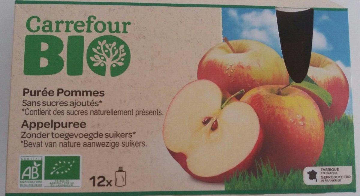 Purée Pomme Sans Sucres Ajoutés - Product