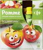 Compotes allégées en sucres* - Produit