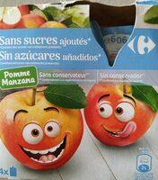 Pomme sans sucres ajoutés - Product - fr