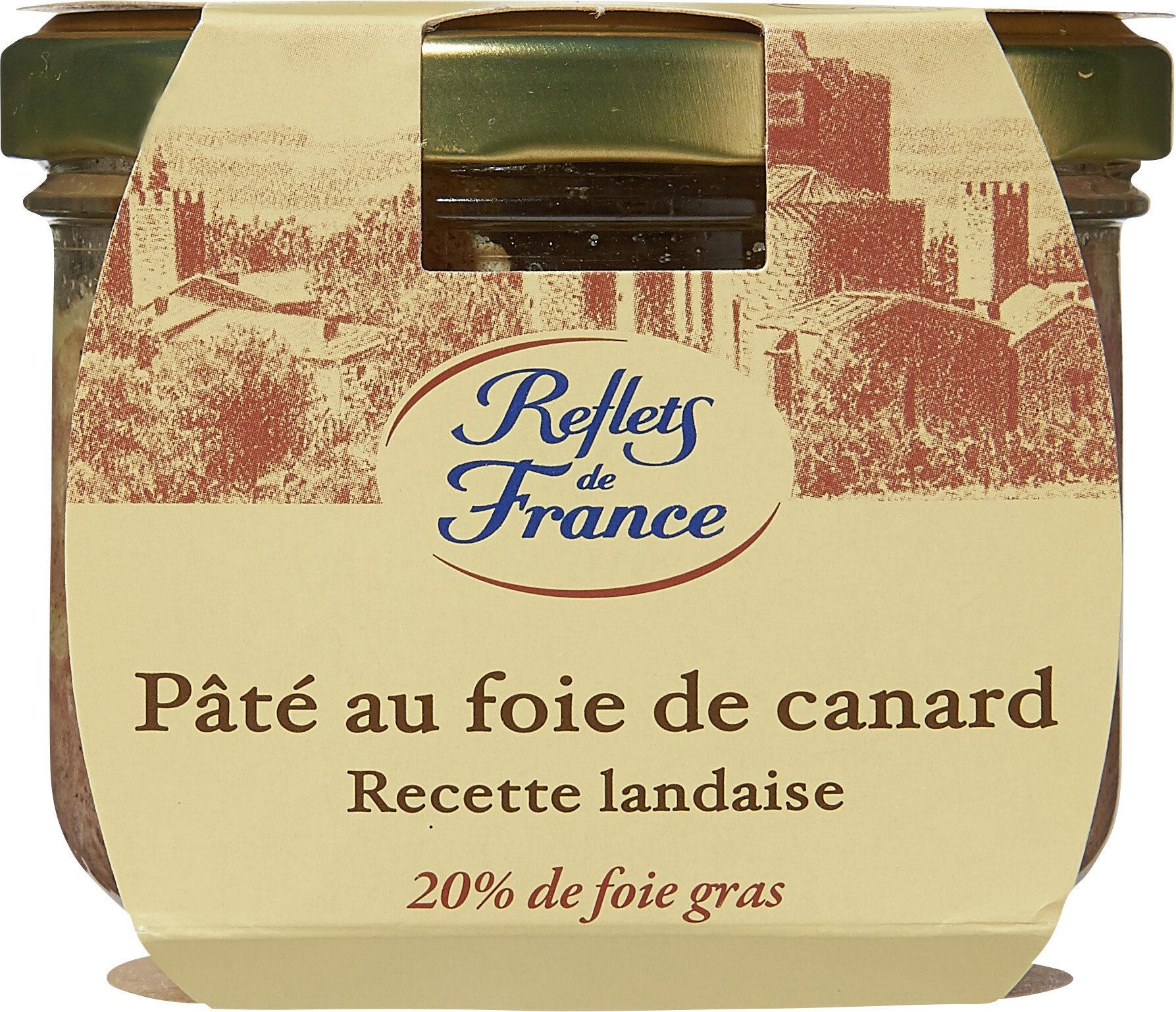 Pâté au foie de canard, recette landaise, 20% de foie gras - Produit - fr