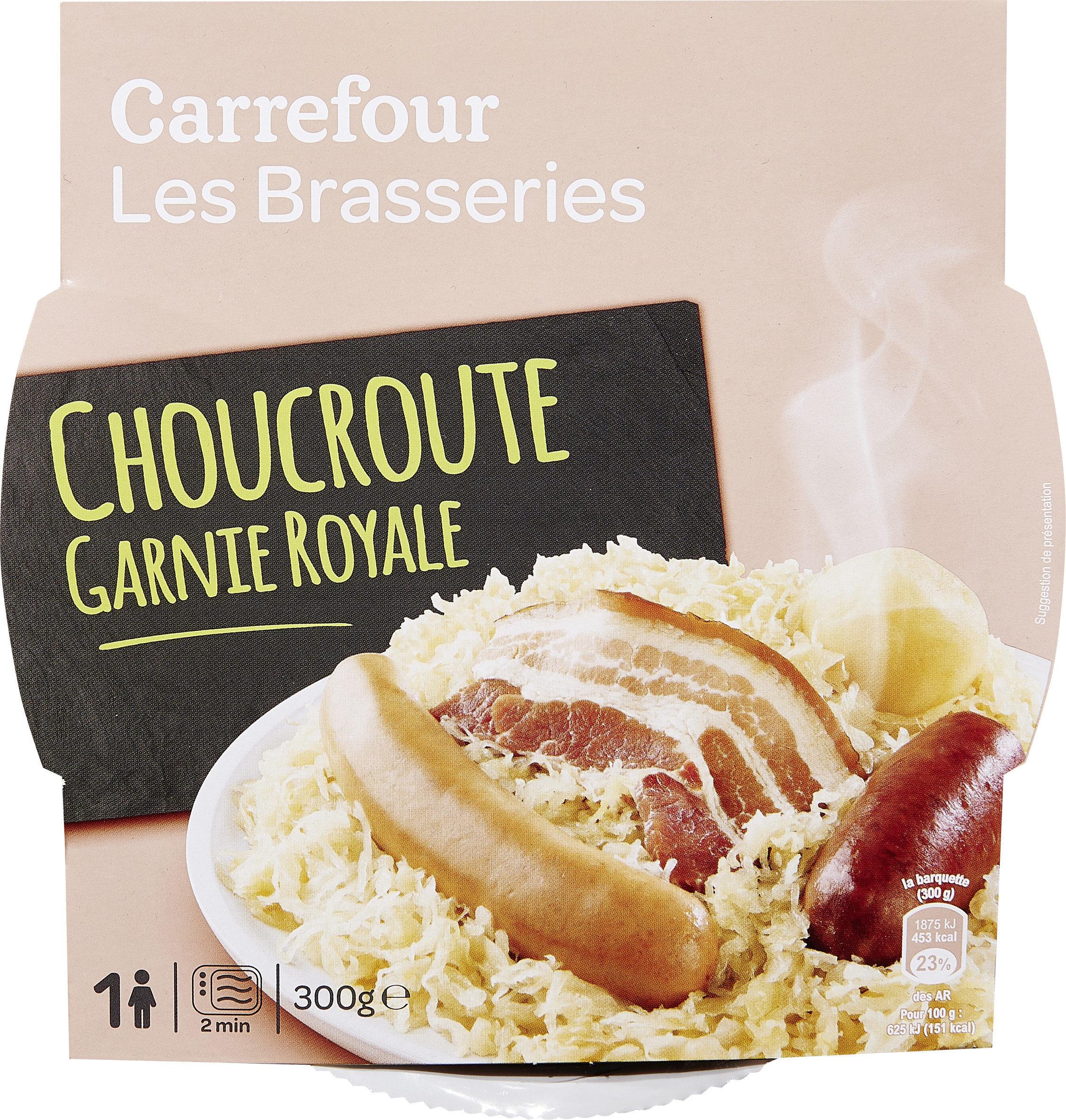 Choucroute garnie Royale - Produit - fr