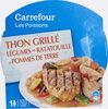 Thon Grillé Légumes En Ratatouille Et Pommes De Terre - Product