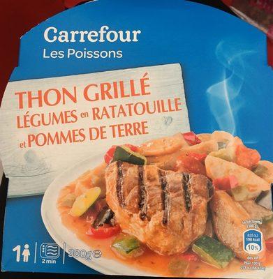 Thon Grillé Légumes En Ratatouille Et Pommes De Terre - Produit - fr