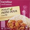 Poulet Sauce Aigre Douce et Son Riz - Product