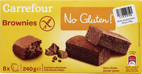 Brownies  No Gluten !* - Product