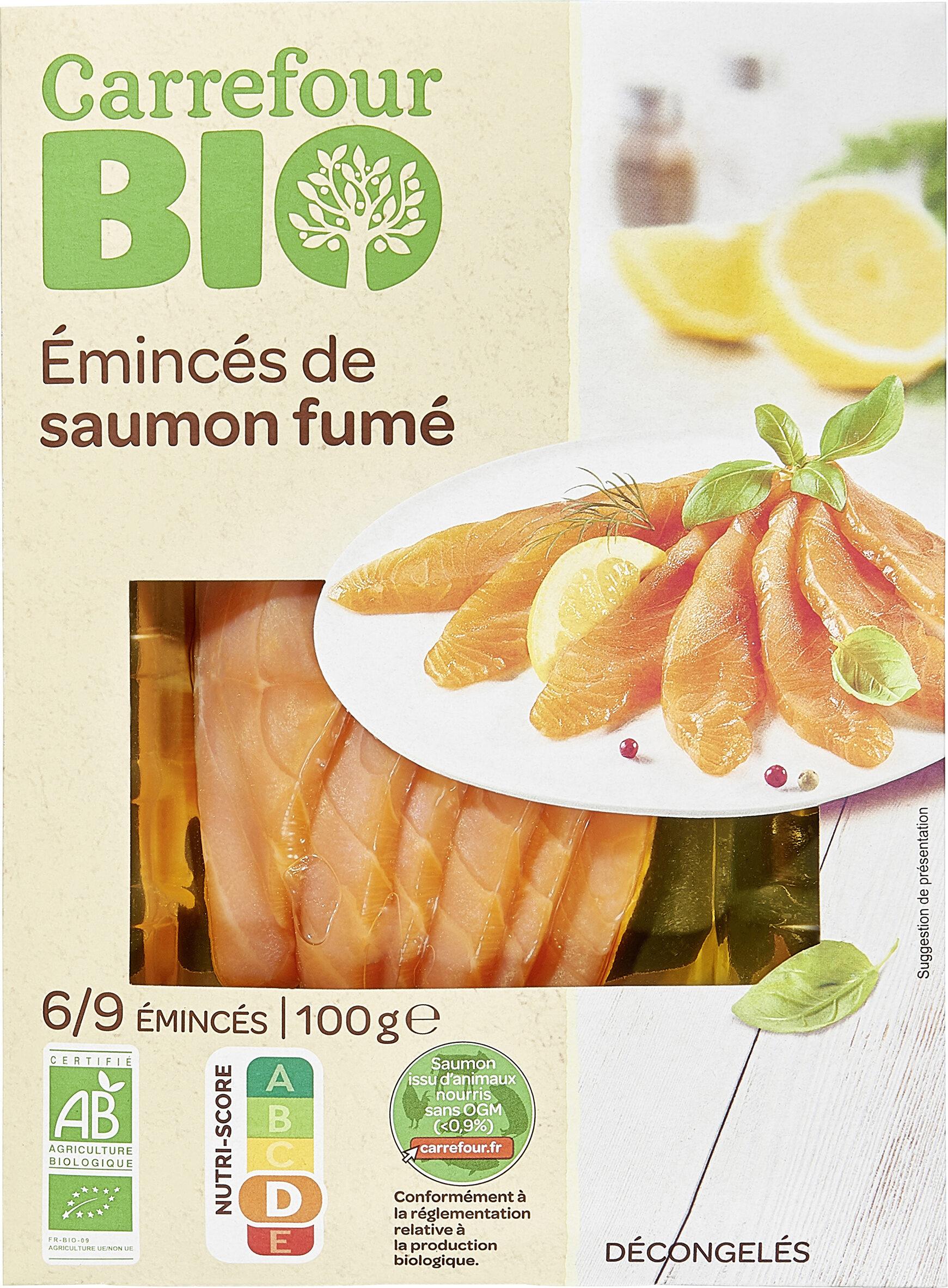 Émincés Saumon Fumé - Product - fr